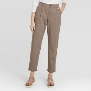 NWOT A New Day High Rise Straight Ankle Pants